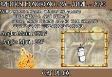 PREDIKSI TOGEL HONGKONG HARI KAMIS 23 APRIL 2020