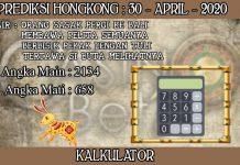 PREDIKSI TOGEL HONGKONG HARI KAMIS 30 APRIL 2020