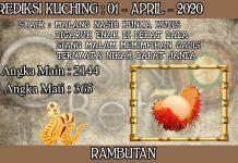 PREDIKSI TOGEL KUCHING HARI RABU 01 APRIL 2020