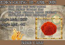PREDIKSI TOGEL KUCHING HARI KAMIS 02 APRIL 2020