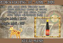 PREDIKSI TOGEL KUCHING HARI SELASA 07 APRIL 2020