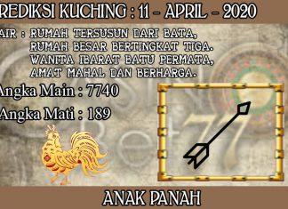 PREDIKSI TOGEL KUCHING HARI SABTU 11 APRIL 2020