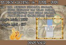 PREDIKSI TOGEL KUCHING HARI KAMIS 16 APRIL 2020