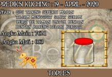 PREDIKSI TOGEL KUCHING HARI MINGGU 19 APRIL 2020