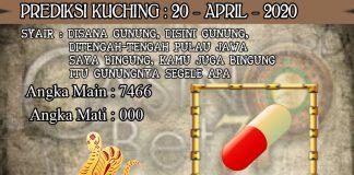 PREDIKSI TOGEL KUCHING HARI SENIN 20 APRIL 2020