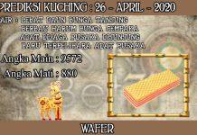 PREDIKSI TOGEL KUCHING HARI MINGGU 26 APRIL 2020