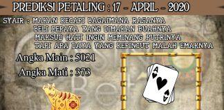 PREDIKSI TOGEL PETALING HARI JUMAT 17 APRIL 2020