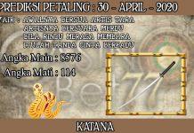 PREDIKSI TOGEL PETALING HARI KAMIS 30 APRIL 2020
