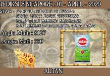 PREDIKSI TOGEL SINGAPORE HARI RABU 01 APRIL 2020