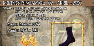PREDIKSI TOGEL SINGAPORE HARI KAMIS 02 APRIL 2020