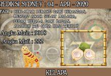 PREDIKSI TOGEL SYDNEY HARI SABTU 04 APRIL 2020