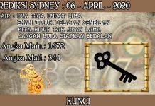 PREDIKSI TOGEL SYDNEY HARI SENIN 06 APRIL 2020