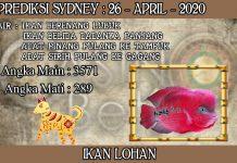 PREDIKSI TOGEL SYDNEY HARI MINGGU 26 APRIL 2020