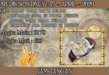PREDIKSI TOGEL SYDNEY HARI SENIN 27 APRIL 2020