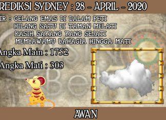 PREDIKSI TOGEL SYDNEY HARI SELASA 28 APRIL 2020