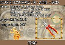 PREDIKSI TOGEL HONGKONG HARI RABU 01 APRIL 2020