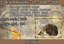 PREDIKSI TOGEL HONGKONG HARI KAMIS 02 APRIL 2020