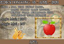 PREDIKSI TOGEL HONGKONG HARI MINGGU 05 APRIL 2020