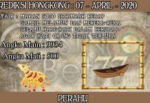 PREDIKSI TOGEL HONGKONG HARI SELASA 07 APRIL 2020