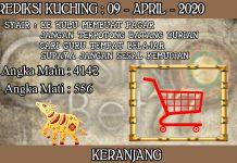 PREDIKSI TOGEL KUCHING HARI KAMIS 09 APRIL 2020