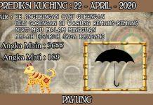 PREDIKSI TOGEL KUCHING HARI RABU 22 APRIL 2020