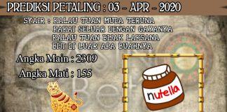 PREDIKSI TOGEL PETALING HARI JUMAT 03 APRIL 2020