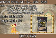 PREDIKSI TOGEL PETALING HARI SABTU 04 APRIL 2020