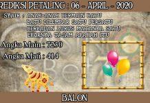 PREDIKSI TOGEL PETALING HARI SENIN 06 APRIL 2020