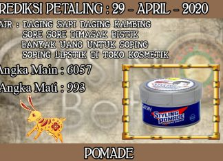 PREDIKSI TOGEL PETALING HARI RABU 29 APRIL 2020