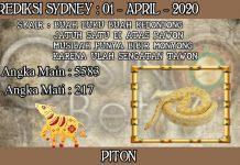 PREDIKSI TOGEL SYDNEY HARI RABU 01 APRIL 2020