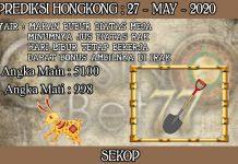 PREDIKSI TOGEL HONGKONG HARI RABU 27 MAY 2020