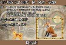 PREDIKSI TOGEL KUCHING HARI SELASA 19 MAY 2020