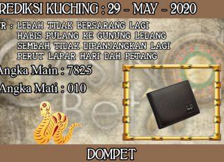 PREDIKSI TOGEL KUCHING HARI JUMAT 29 MAY 2020