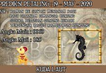 PREDIKSI TOGEL PETALING HARI SELASA 19 MAY 2020