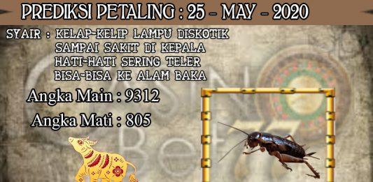 PREDIKSI TOGEL PETALING HARI SENIN 25 MAY 2020