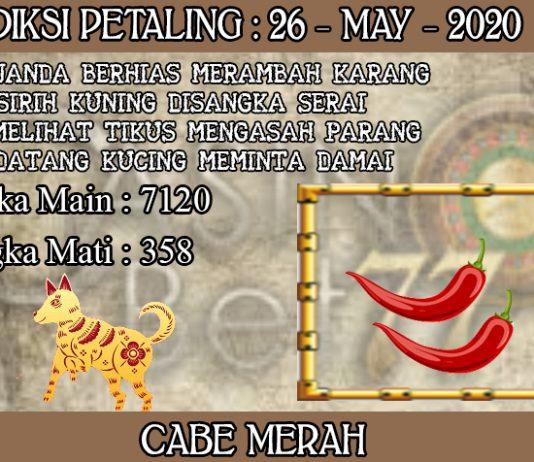 PREDIKSI TOGEL PETALING HARI SELASA 26 MAY 2020