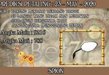 PREDIKSI TOGEL PETALING HARI SABTU 23 MAY 2020