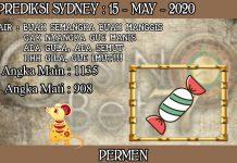 PREDIKSI TOGEL SYDNEY HARI JUMAT 15 MAY 2020