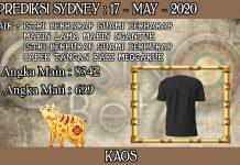 PREDIKSI TOGEL SYDNEY HARI MINGGU 17 MAY 2020