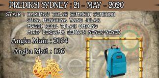 PREDIKSI TOGEL SYDNEY HARI KAMIS 21 MAY 2020