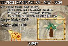 PREDIKSI TOGEL HONGKONG HARI SABTU 09 MAY 2020