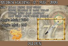 PREDIKSI TOGEL KUCHING HARI SELASA 12 MAY 2020