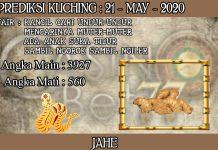 PREDIKSI TOGEL KUCHING HARI KAMIS 21 MAY 2020