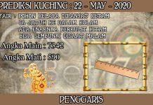 PREDIKSI TOGEL KUCHING HARI JUMAT 22 MAY 2020