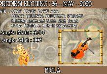 PREDIKSI TOGEL KUCHING HARI SELASA 26 MAY 2020