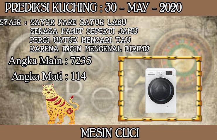 PREDIKSI TOGEL KUCHING HARI SABTU 30 MAY 2020