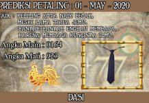 PREDIKSI TOGEL PETALING HARI JUMAT 01 MAY 2020