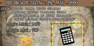 PREDIKSI TOGEL PETALING HARI JUMAT 29 MAY 2020
