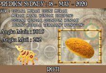 PREDIKSI TOGEL SYDNEY HARI SENIN 18 MAY 2020