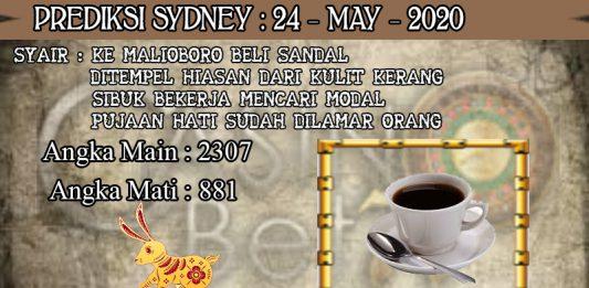 PREDIKSI TOGEL SYDNEY HARI MINGGU 24 MAY 2020